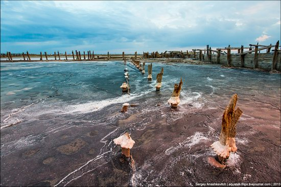 Abandoned salt fields, Crimea, Ukraine, photo 9