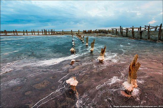 Abandoned salt fields, Crimea, Ukraine, photo 9