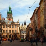 Architecture of the historic center of Lviv
