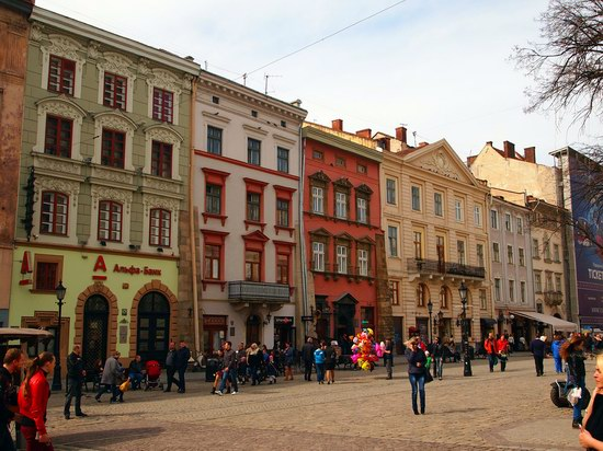 Architecture of the historic center of Lviv, Ukraine, photo 13