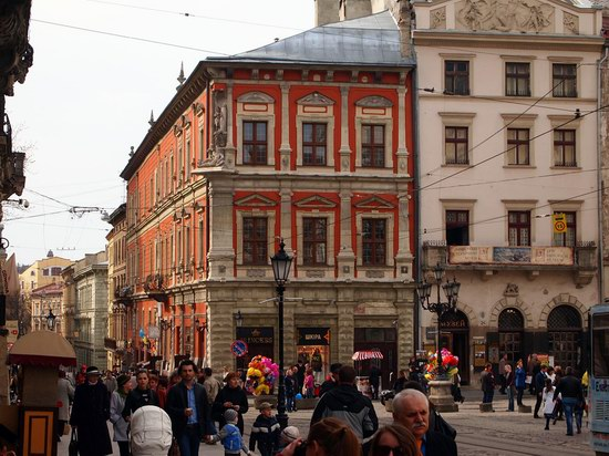 Architecture of the historic center of Lviv, Ukraine, photo 15