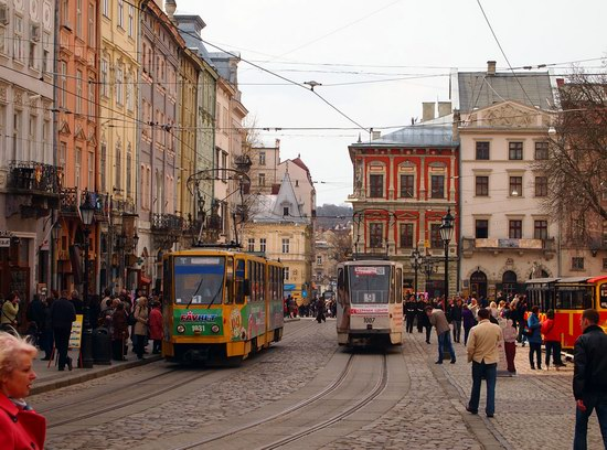 Architecture of the historic center of Lviv, Ukraine, photo 16