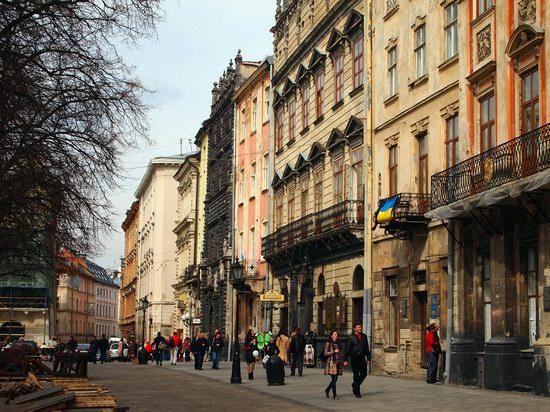 Architecture of the historic center of Lviv, Ukraine, photo 17