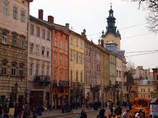 Architecture of the historic center of Lviv, Ukraine, photo 18