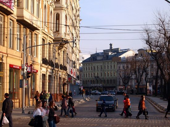 Architecture of the historic center of Lviv, Ukraine, photo 2