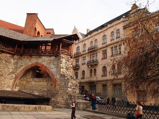 Architecture of the historic center of Lviv, Ukraine, photo 20