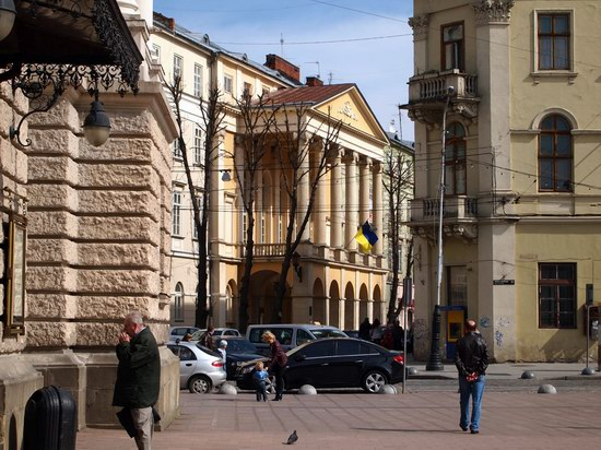Architecture of the historic center of Lviv, Ukraine, photo 4