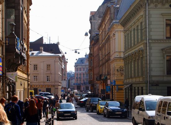 Architecture of the historic center of Lviv, Ukraine, photo 6