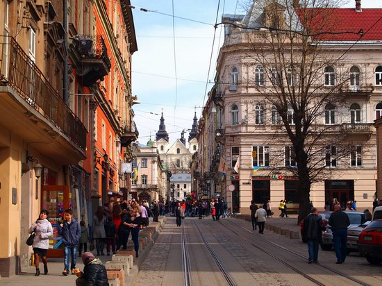 Architecture of the historic center of Lviv, Ukraine, photo 7