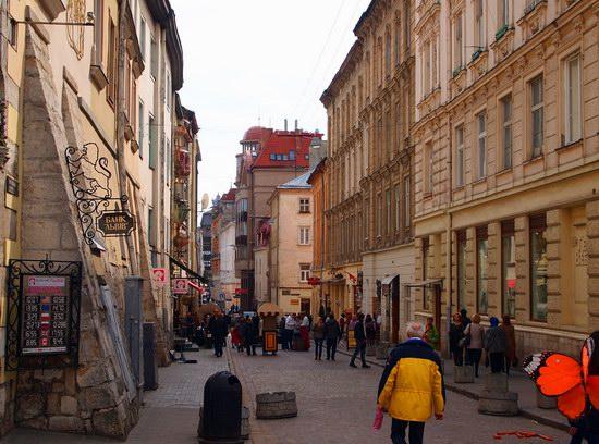 Architecture of the historic center of Lviv, Ukraine, photo 8