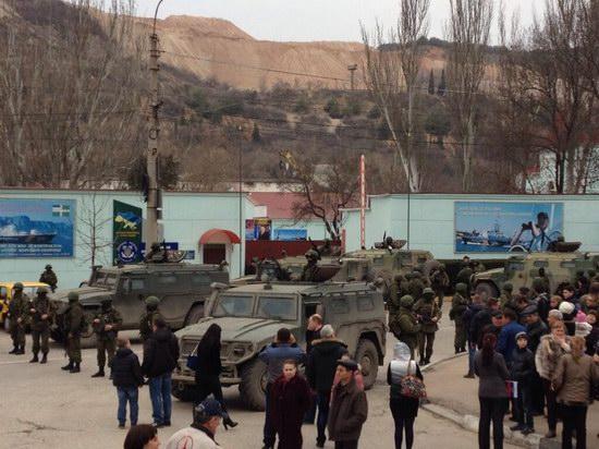 Crimea - Russian troops