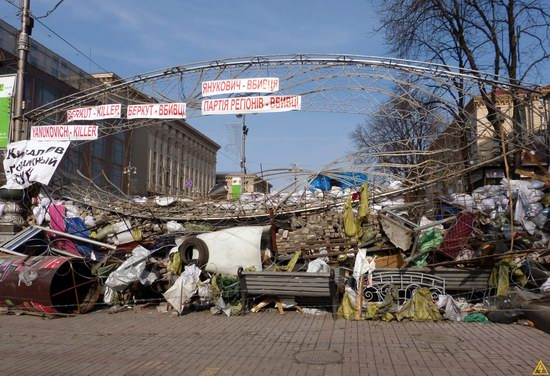 Euromaidan after the Battle, Kyiv, Ukraine, photo 1