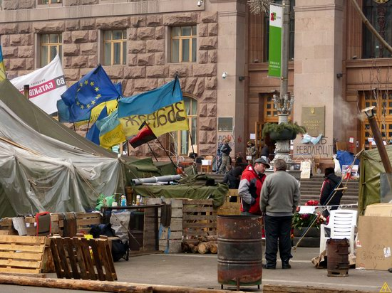 Euromaidan after the Battle, Kyiv, Ukraine, photo 12