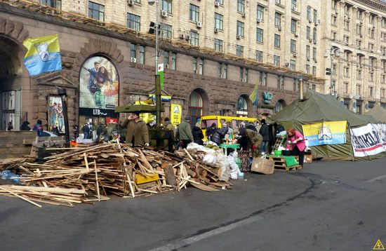 Euromaidan after the Battle, Kyiv, Ukraine, photo 15