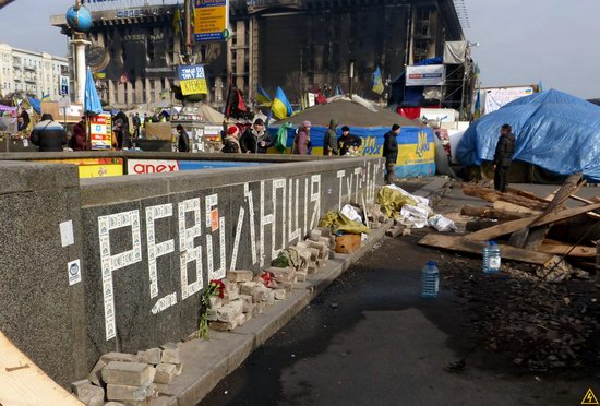 Euromaidan after the Battle, Kyiv, Ukraine, photo 16