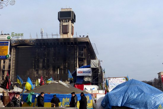 Euromaidan after the Battle, Kyiv, Ukraine, photo 19