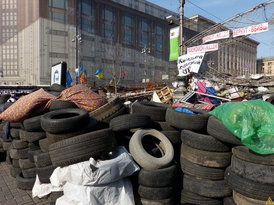 Euromaidan after the Battle, Kyiv, Ukraine, photo 2