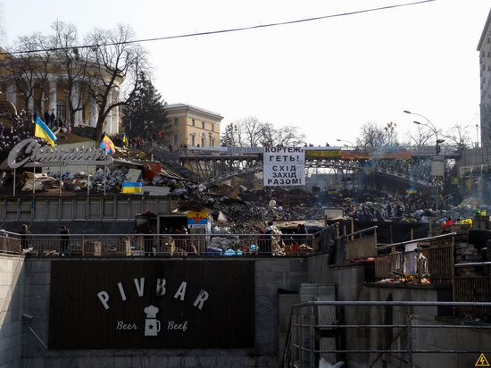 Euromaidan after the Battle, Kyiv, Ukraine, photo 22