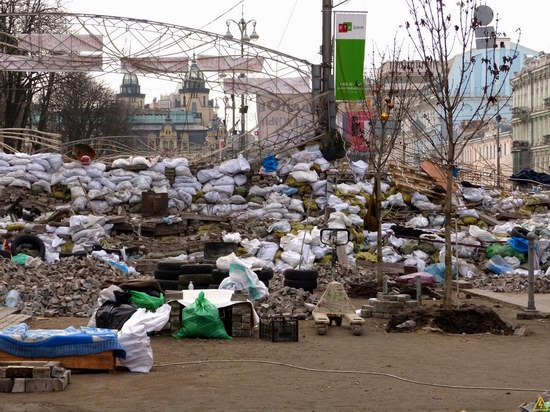 Euromaidan after the Battle, Kyiv, Ukraine, photo 3