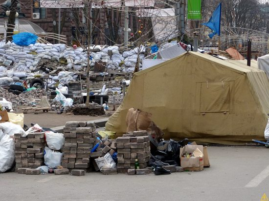 Euromaidan after the Battle, Kyiv, Ukraine, photo 4