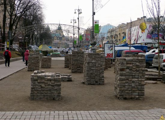 Euromaidan after the Battle, Kyiv, Ukraine, photo 5