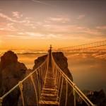Hanging bridges on Ai-Petri Mount