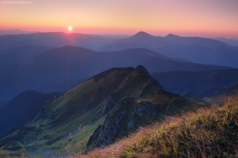Ukraine Mountains