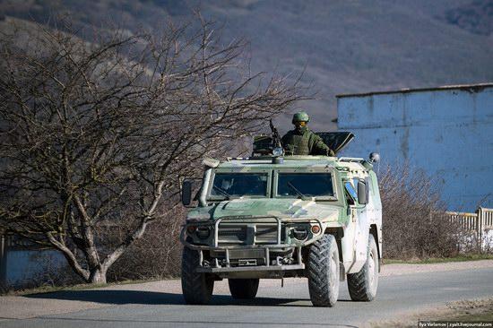 Russian troops, Crimea, Ukraine, photo 1
