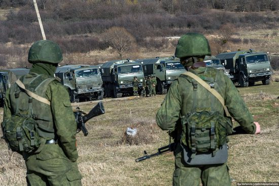Russian troops, Crimea, Ukraine, photo 11