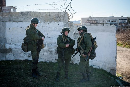 Russian troops, Crimea, Ukraine, photo 2