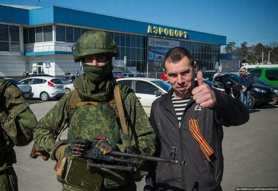 Russian troops, Crimea, Ukraine, photo 3