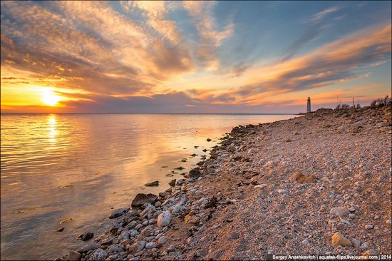 Chersonese lighthouse in Sevastopol, Crimea, Ukraine, photo 1
