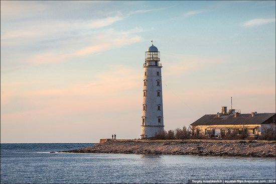 Chersonese lighthouse in Sevastopol, Crimea, Ukraine, photo 2