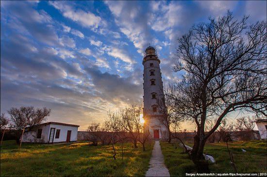 Chersonese lighthouse in Sevastopol, Crimea, Ukraine, photo 3