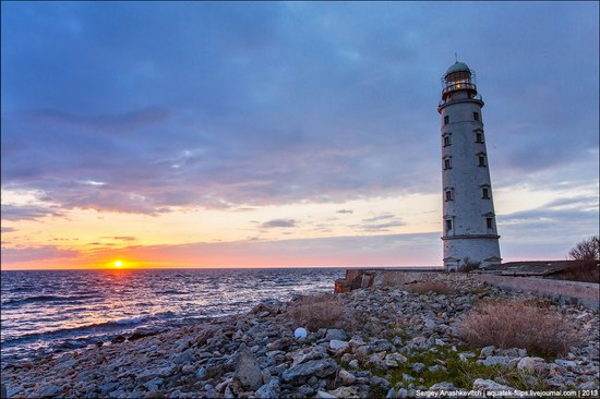 Chersonese lighthouse in Sevastopol, Crimea, Ukraine, photo 7