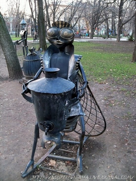 Forged Figures Park in Donetsk, Ukraine, photo 13