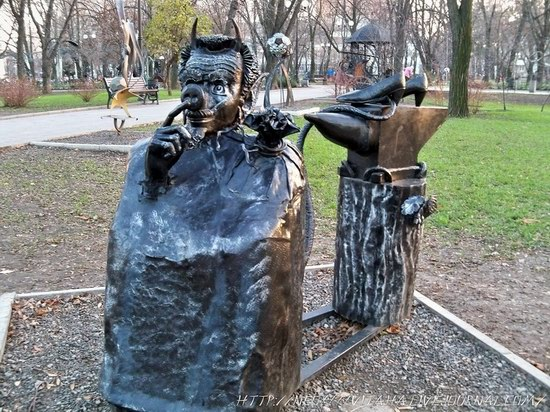 Forged Figures Park in Donetsk, Ukraine, photo 14