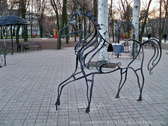 Forged Figures Park in Donetsk, Ukraine, photo 17