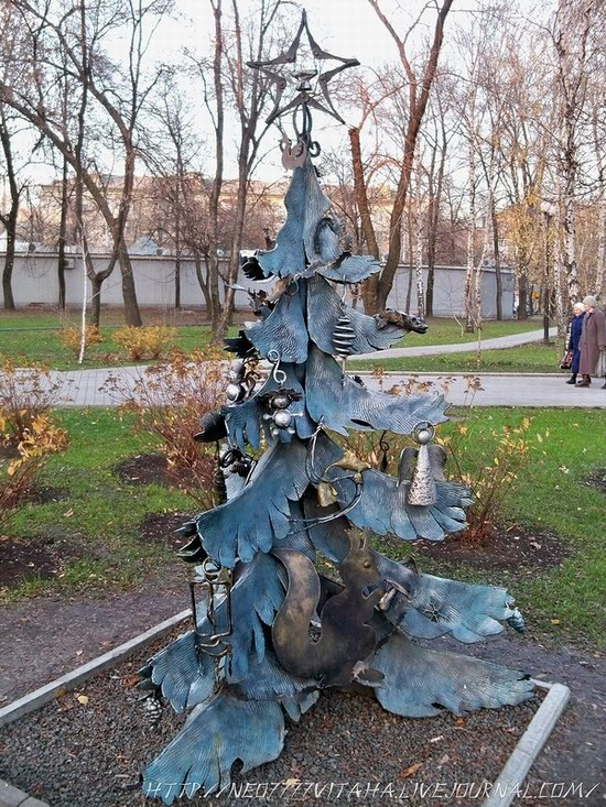 Forged Figures Park in Donetsk, Ukraine, photo 18