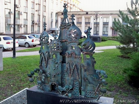 Forged Figures Park in Donetsk, Ukraine, photo 19