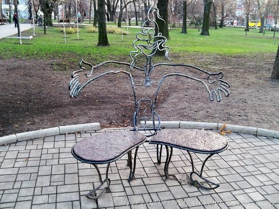Forged Figures Park in Donetsk, Ukraine, photo 2