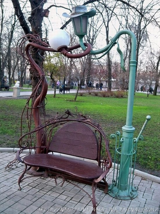 Forged Figures Park in Donetsk, Ukraine, photo 22