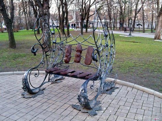 Forged Figures Park in Donetsk, Ukraine, photo 23