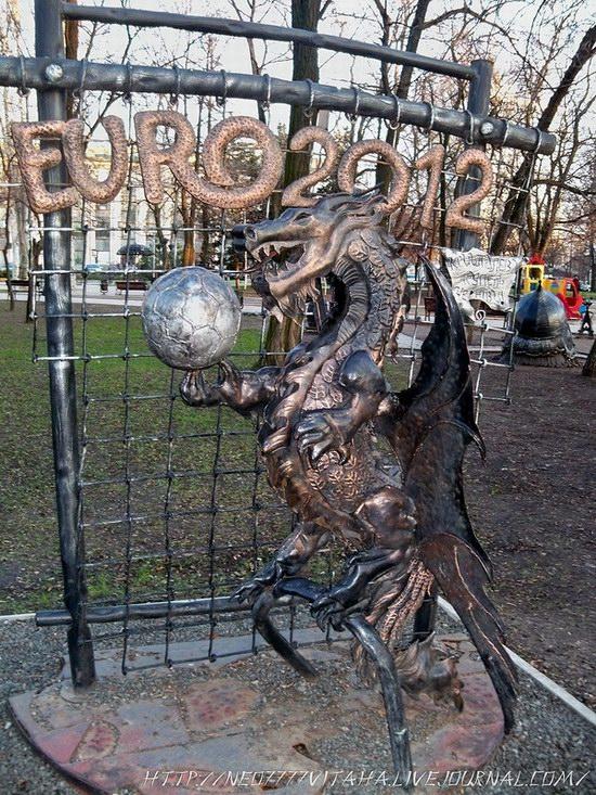 Forged Figures Park in Donetsk, Ukraine, photo 5