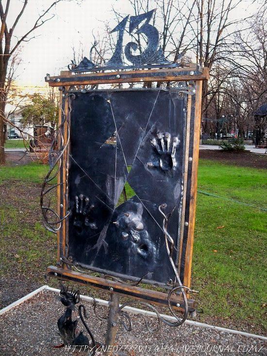 Forged Figures Park in Donetsk, Ukraine, photo 8
