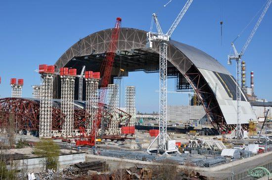 "Construction of ""New Safe Confinement"" for Chernobyl NPP, Ukraine, photo 2"