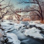 Beautiful winter landscapes – the Krynka River