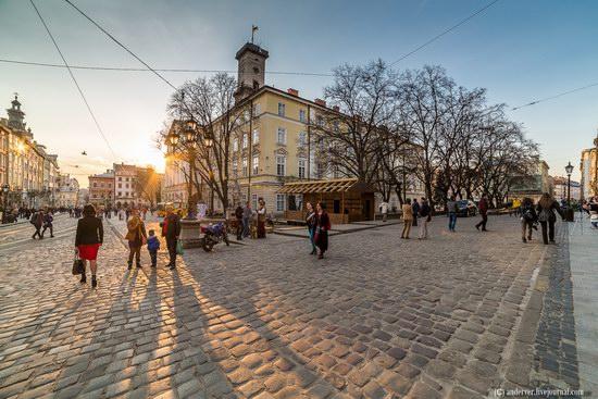 Beautiful architecture of Lviv, Ukraine, photo 1