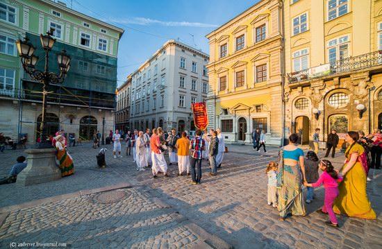 Beautiful architecture of Lviv, Ukraine, photo 12
