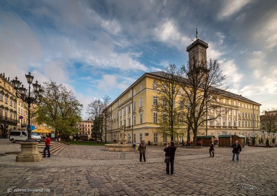 Beautiful architecture of Lviv, Ukraine, photo 19